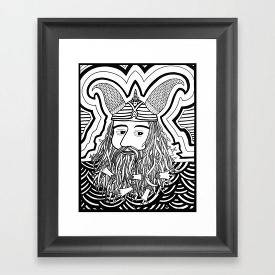 Vi King Framed Art Print
