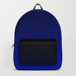 Black and Dark Blue Gradient 061 Backpack