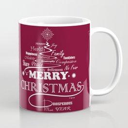 The Wishing Christmas Tree Coffee Mug