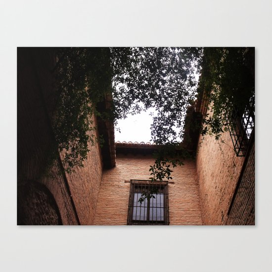 Pure Light Canvas Print