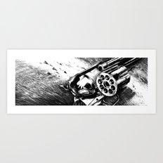 A bullet for everyone Art Print