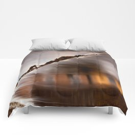 Flowing Water Abstract Comforters