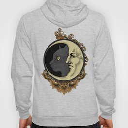 The cat & The Moon (Colored) Hoody