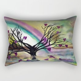 Love Blossoms Rectangular Pillow