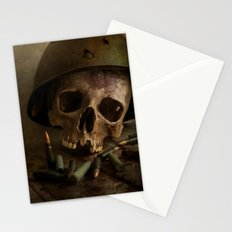 We were soldiers Stationery Cards