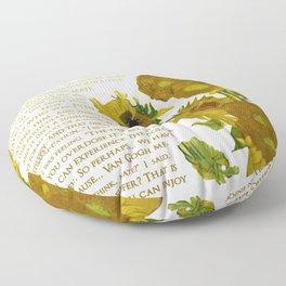 Van Gogh Medicated- Hanna Gadsby Floor Pillow