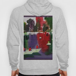 Watercolor Autumn Fishers 2 Hoody