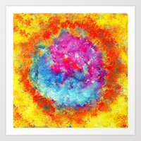 Plasmic Earth Number Two Art Print