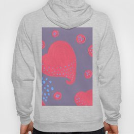lollipop attacked by hearts Hoody