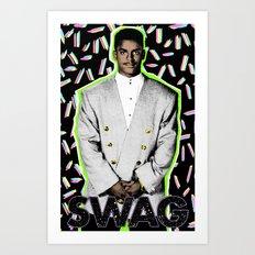 Carlton Swagz: Second Edition Art Print