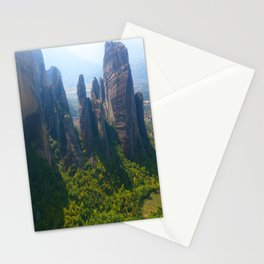 Meditation up to Meteora | Greece | Nature Stationery Cards