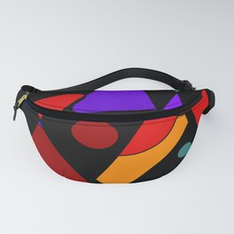 Abstract #86 Fanny Pack