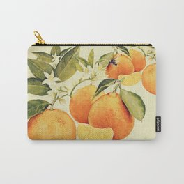 Oranges and their blossoms Carry-All Pouch