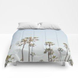 California Palm Trees II Comforters