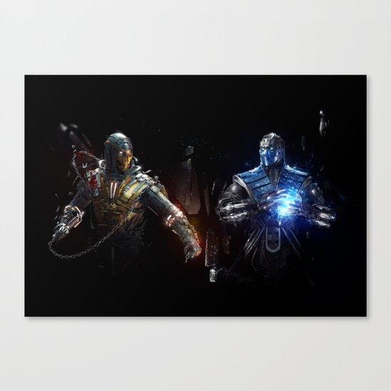 MK VS. Canvas Print