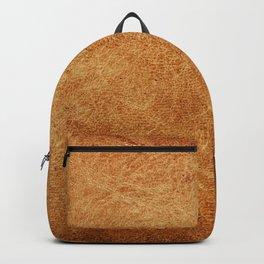 Vintage leather texture. Natural brown animal skin illustration. Backpack