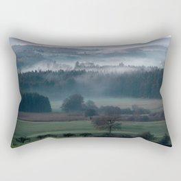 until the black forest Rectangular Pillow