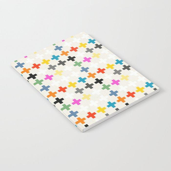 Cross Pattern Notebook