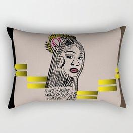 Lady Rectangular Pillow