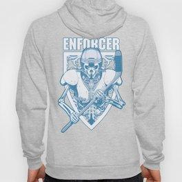 Enforcer Ice Hockey Player Skeleton Hoody