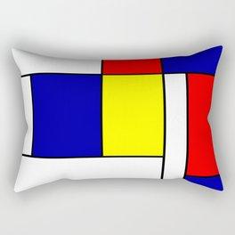 Mondrian #38 Rectangular Pillow