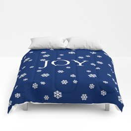 Winter Joy - navy blue - other colors Comforters