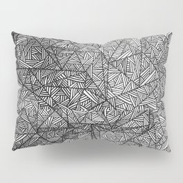 Pattern psychedelia Pillow Sham