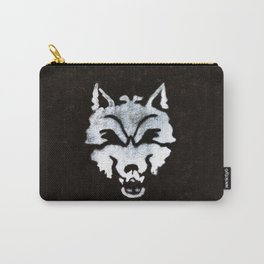 Street Art- Lonely Wolf Graffiti Carry-All Pouch