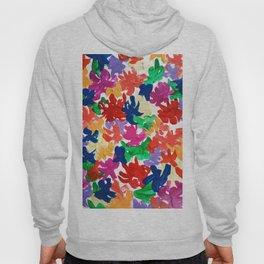 Color flowers Hoody