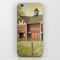 american beauty iPhone & iPod Skins featuring Americana by Farmhouse Chic