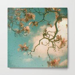 Magnolia Falls Metal Print