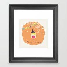 Fairy Hugs Framed Art Print
