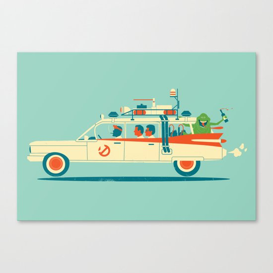 Party in the Back Canvas Print