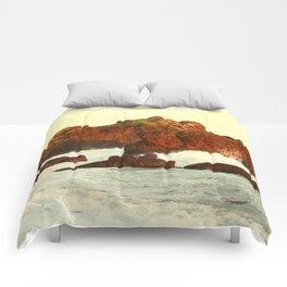 Warm evening light Comforters