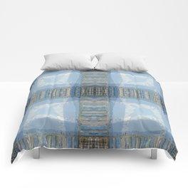 MOUNT BAKER KOMA KULSHAN AND OLD PILINGS  Comforters