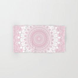 Boho Pink Mandala Hand & Bath Towel