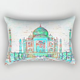 The Taj Rectangular Pillow