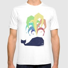 Rainbow Warrior White LARGE Mens Fitted Tee