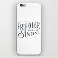 32/52: Zephaniah 3:17b iPhone & iPod Skin