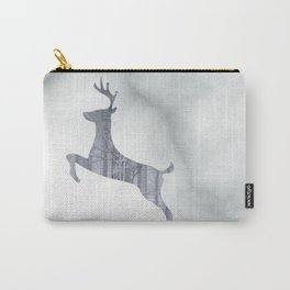 Reindeer Forest Carry-All Pouch