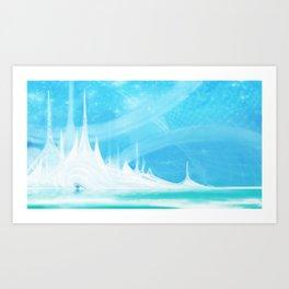 Just Beach-y! Art Print