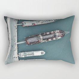 Zakynthos Pier Rectangular Pillow
