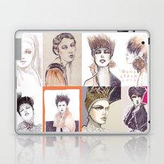 Fashion illustration composition Laptop & iPad Skin