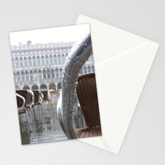 St Mark's Square after rain Stationery Cards