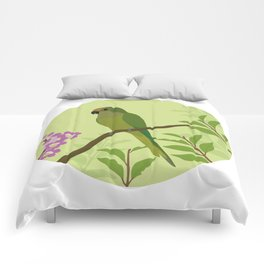 Peach-fronted Parakeet Comforters