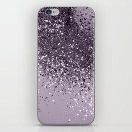 Sparkling Lavender Lady Glitter #2 #shiny #decor #art #society6 iPhone Skin