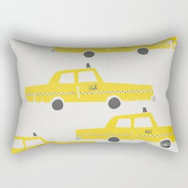 New York Taxicab Rectangular Pillow