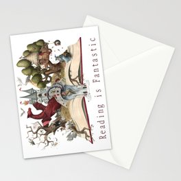 Reading is Fantastic Stationery Cards