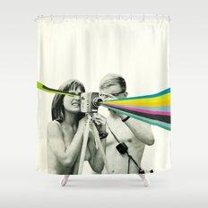 Back to Basics Shower Curtain