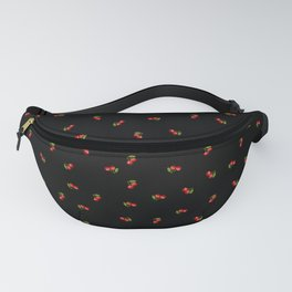 Dark Delicate Cherry Fanny Pack